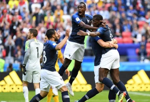 Fotbal – CM 2018: Franta – Australia 2-1