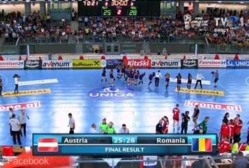 Handbal feminin: Romania s-a calificat la Campionatul European 2018, dupa 28-25 cu Austria