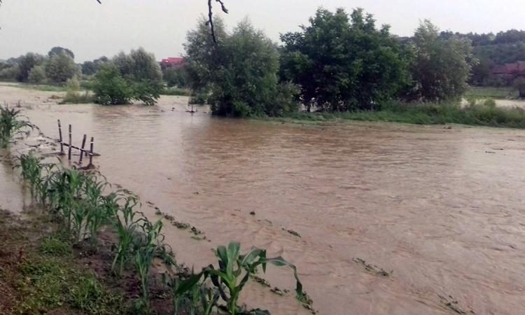 Pericol de inundatii in Maramures