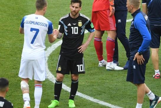 Fotbal – CM 2018: Argentina, tinuta in sah de debutanta Islanda, 1-1