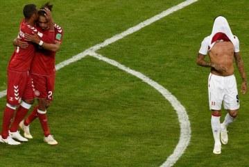 Fotbal – CM 2018: Peru – Danemarca 0-1