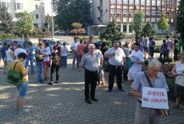 PROTEST in Baia Mare fata de modificarea codurilor penale