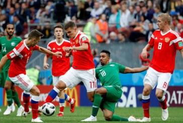 Fotbal – CM 2018: Rusia, prima echipa calificata in optimi, dupa 3-1 cu Egiptul