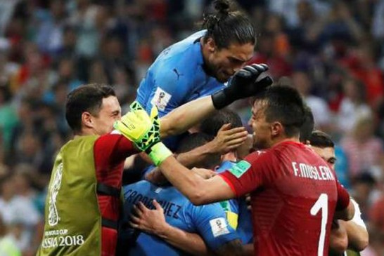 CM 2018: Uruguay s-a calificat in sferturi, dupa 2-1 cu Portugalia