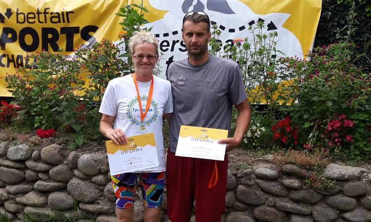 INOT: Locul I pentru sportivii baimareni Stefan Gherghel si Delia Kovacs, la Tarnita 2018