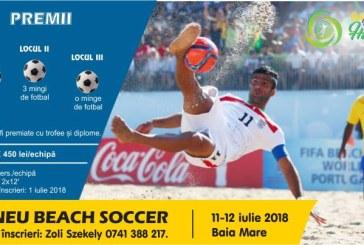 Program Baia Mare Beach Soccer Challenge 11-12 iulie