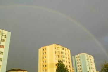 Curcubeu de iulie pe cerul orasului Baia Mare (FOTO)