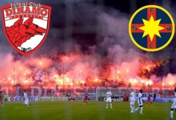 Fotbal – Liga I: FCSB – Dinamo Bucuresti, scor 3-3
