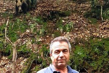 INEDIT: Un consilier local baimarean s-a intalnit cu… ursul (VIDEO)