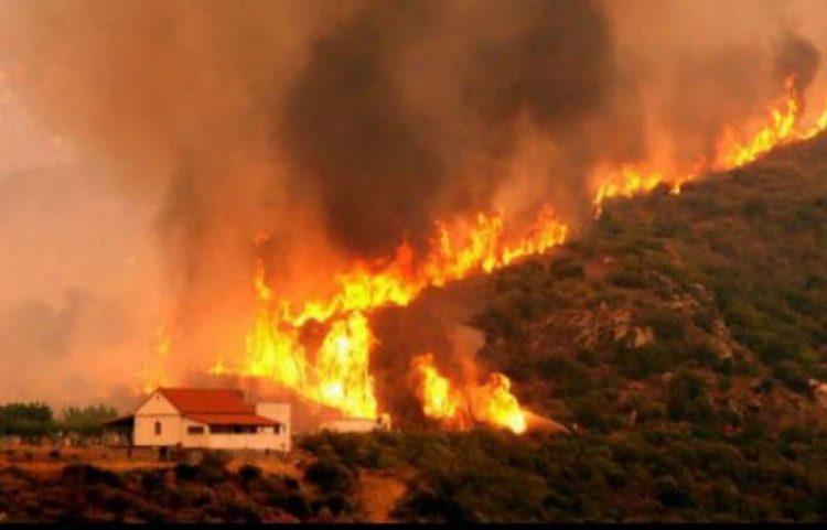 MAE: Atentionare de calatorie pentru Grecia-zone cu risc de incendii de vegetatie
