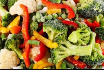 Etichetele produselor vegetale congelate ar putea contine recomandarea prepararii termice inainte de consum