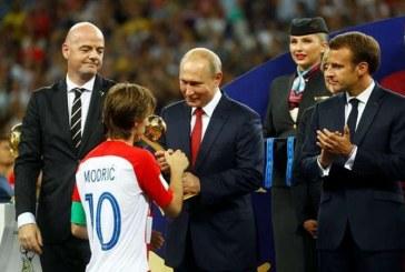 CM 2018: Croatul Modric, desemnat cel mai bun jucator al turneului final