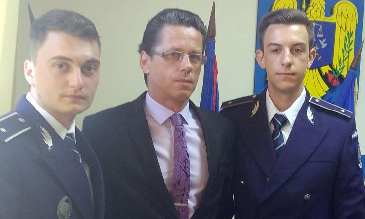 In urma cu doua saptamani studenti, incepand de azi ofiteri la I.P.J. Maramures