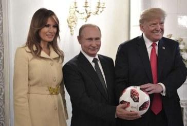"""Trump spune ca """"nu a cedat nimic"""" la intalnirea cu Putin"""