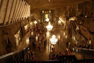 O salina din Polonia atrage anual peste 1,5 milioane de turisti