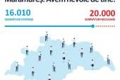 """Maramuresul se apropie de cifra de 20.000 de semnaturi in campania """"Fara penali"""""""