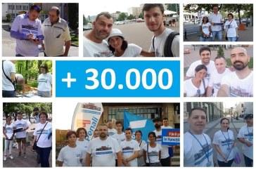 Peste 30.000 de maramureseni au semnat Fara Penali