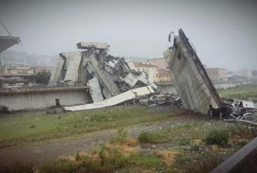 39 de morti, printre care si 2 romani, dupa prabusirea viaductului din Italia