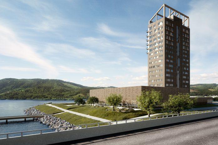 Cel mai inalt bloc turn din lemn prinde contur in Norvegia