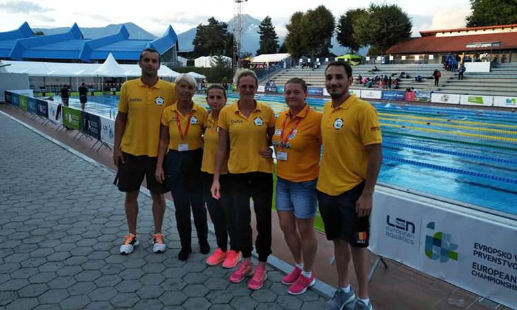 Gold Stars Baia Mare, patru medalii la Campionatele Europene de Inot Masters