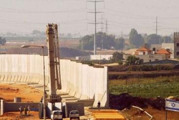 Israelul construieste o structura de aparare inalta de 9 metri de-a lungul frontierei cu Libanul