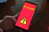 Testare RO-ALERT: Ce mesaj au primit maramuresenii pe telefon