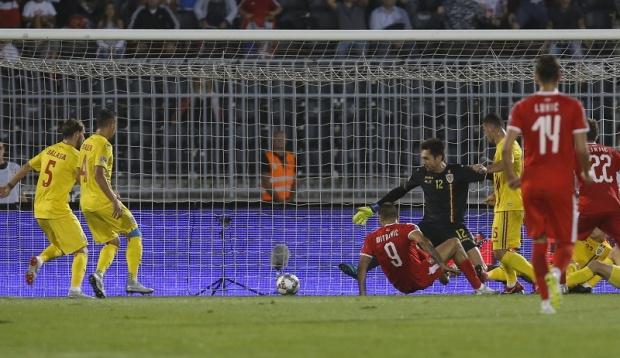 Fotbal: Serbia - Romania 2-2, in Liga Natiunilor