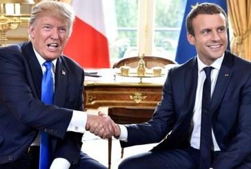 Palatul Elysée: Macron si Trump cauta sa atenueze divergentele dintre ei