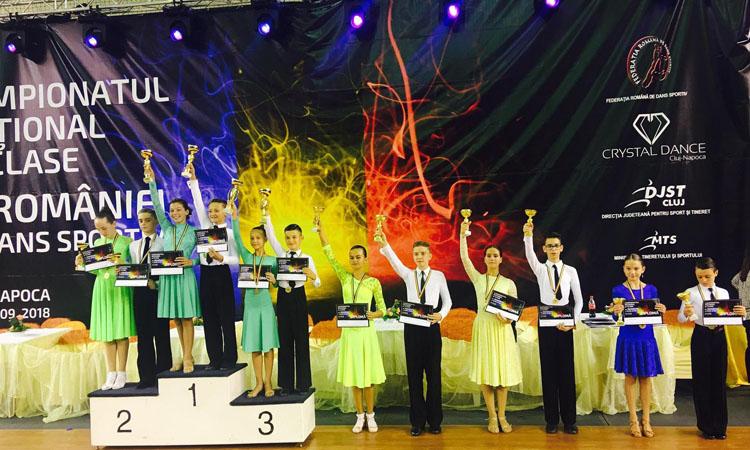 O medalie de bronz si 2 calificari in finalele Campionatului National de Clase al Romaniei pentru sportivii de la Prodance 2000