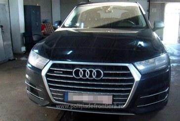 "Audi Q7 ""saltat"" de politistii de la ITPF Sighetu Marmatiei"