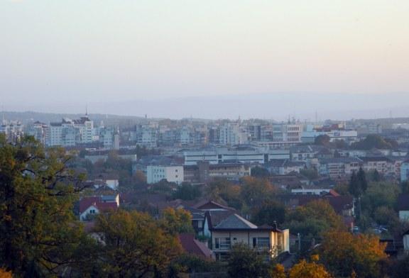 Imaginea zilei: O parte din Baia Mare