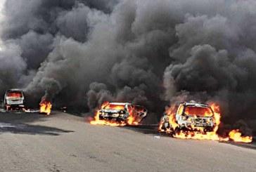 (FOTO)Congo: 50 de morti si 100 de raniti in urma unei ciocniri dintre o autocisterna si un vehicul