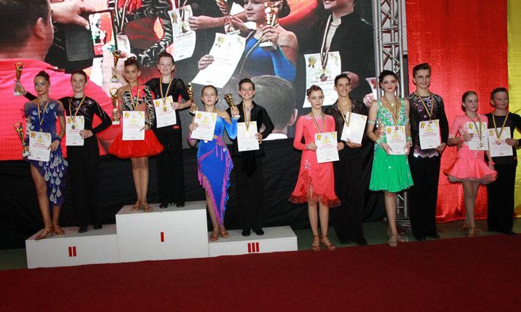 """Sportivii de la Prodance 2000 au urcat de 17 ori pe podium si s-au calificat in alte 9 finale la Concursul National de dans """"Cupa Prodance"""", editia a IX-a"""