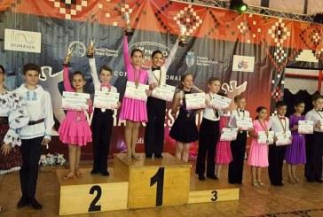 18 medalii si alte 9 finale pentru Prodance 2000 la Cupa Maramuresului