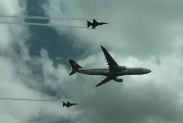 Olanda: Avion de linie escortat de doua F-16, dupa o disputa la bord