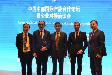 Presedintele CJ Maramures – speaker la Forumul Mondial pe teme de afaceri desfasurat in China