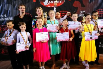 """13 calificari in finale si 7 medalii pentru sportivii de la Galactic Dance la """"Cupa Maramuresului"""""""