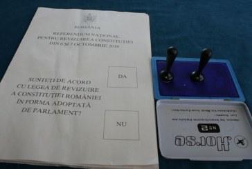 Referendum: Maramures se afla in coada clasamentului dupa Satu Mare