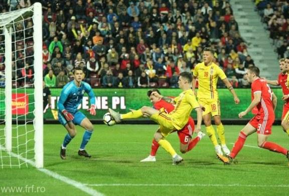 Fotbal: Romania, foarte aproape de calificarea la Campionatul European Under-21, dupa 2-0 cu Tara Galilor