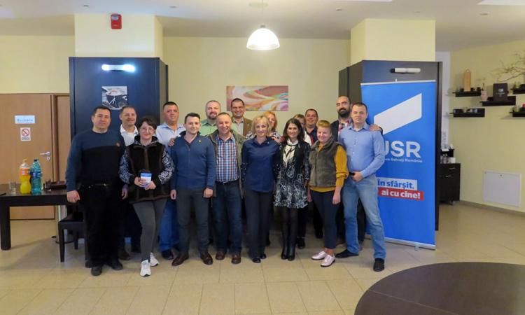USR Maramures a infiintat doua noi filiale, la Ocna Sugatag si la Dumbravita (FOTO)