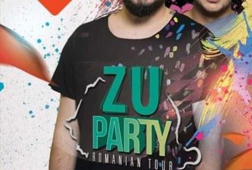 Zu Party: Adi Mihaila si Lucian Barbulescu vor fi in aceasta seara La Moustache