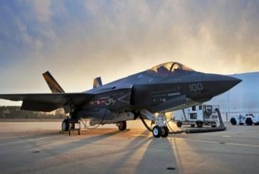 SUA: Pentagonul a achitat Lockheed-Martin prima transa dintr-un contract de 22 miliarde de dolari pentru 255 avioane F-35
