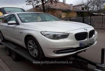 BMW 520D furat din Anglia, depistat in Maramures
