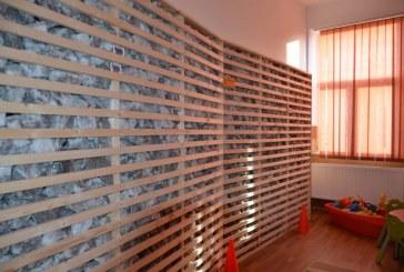 Sali de Sare pentru copiii din Maramures. Primul spatiu de recreere si helioterapie a fost inaugurat la Seini