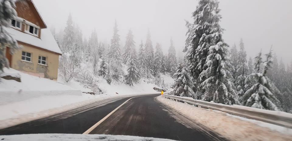 INFO TRAFIC MARAMURES: Circulatie rutiera in conditii de iarna