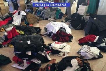 Peste 2.000 articole vestimentare confiscate la Sighetu Marmatiei