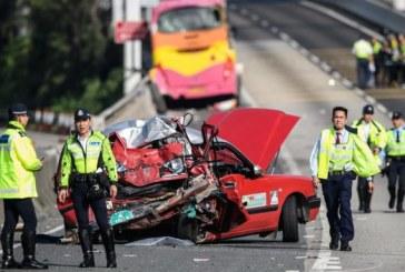 Hong Kong: Grav accident rutier soldat cu 5 morti si 32 de raniti