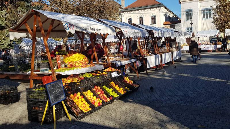 Iarna baimareana: Astazi, cantece patriotice si folk in Piata Libertatii (FOTO)