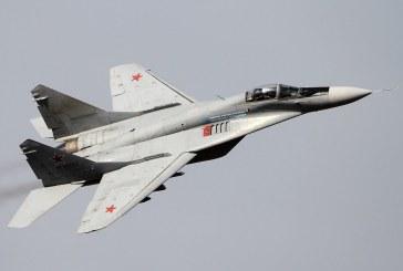 Un avion MIG-29 s-a prabusit in Egipt. Pilotul a reusit sa se catapulteze