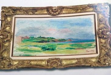 (FOTO) Un tablou de Renoir, furat de la o casa de licitatie din Viena